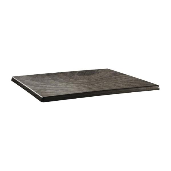 Topalit Classic Line rechthoekig tafelblad hout 110x70cm