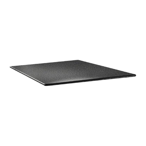 Topalit Smartline vierkant tafelblad antraciet 80cm