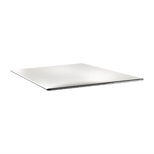 Topalit Smartline vierkant tafelblad wit 80cm