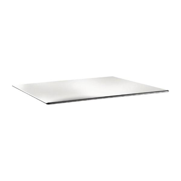 Topalit Smartline rechthoekig tafelblad wit 120x80cm