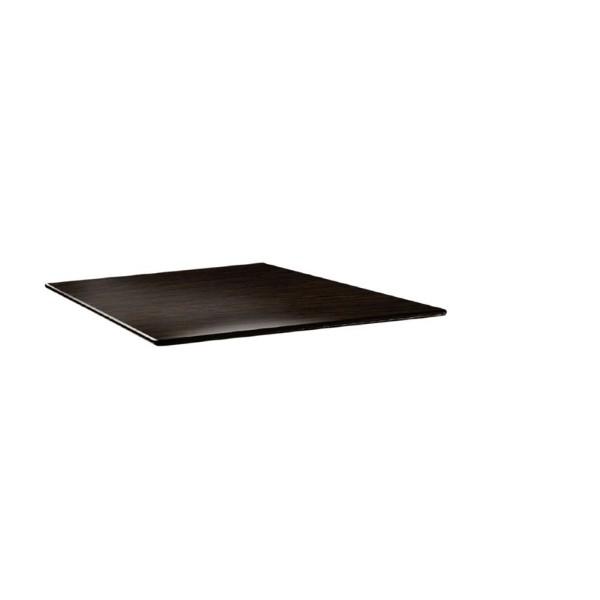 Topalit Smartline vierkant tafelblad wengé 70cm