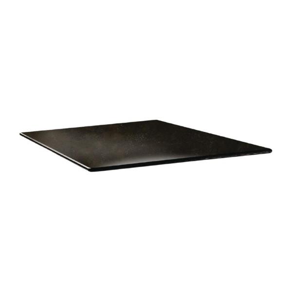 Topalit Smartline vierkant tafelblad Cyprus metal 70cm