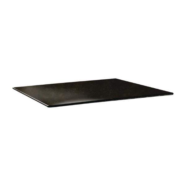 Topalit Smartline rechthoekig tafelblad Cyprus metal 120x80cm