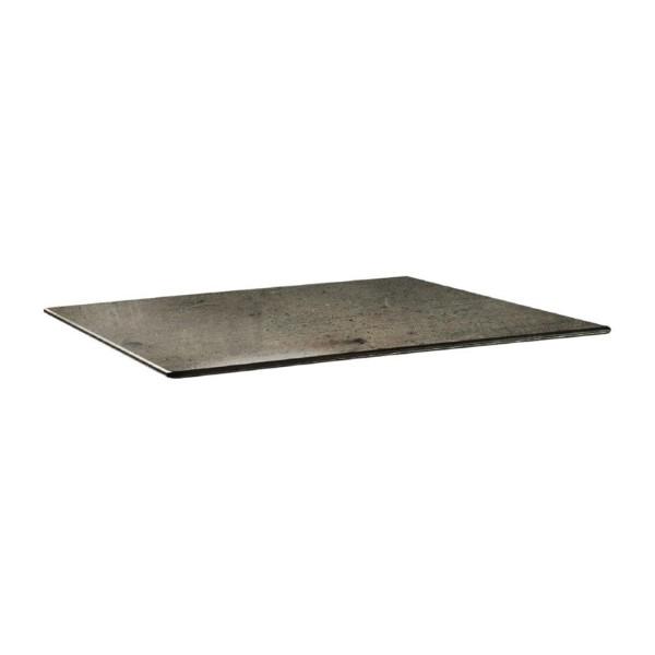 Topalit Smartline rechthoekig tafelblad beton 120x80cm