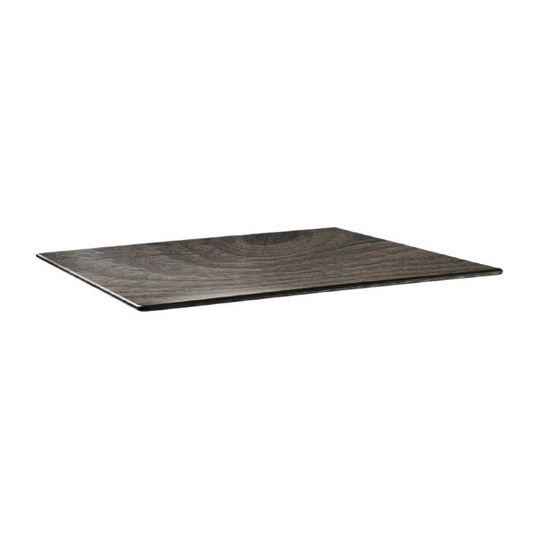 Topalit Smartline rechthoekig tafelblad hout 120x80cm