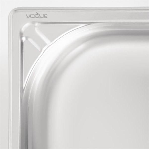Vogue RVS GN 1/1 bak 100mm