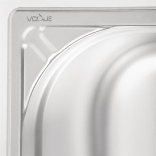 Vogue RVS GN 1/1 bak 200mm