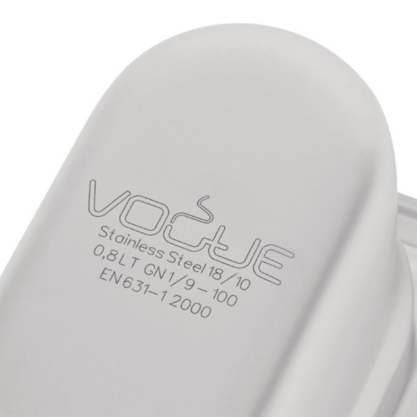 Vogue RVS GN 1/9 bak 100mm
