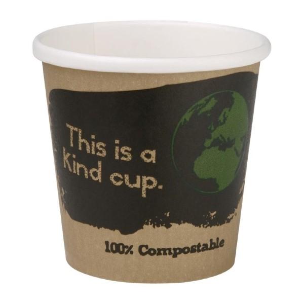 Fiesta Green 1000 composteerbare enkelwandige espressobekers 11,3cl