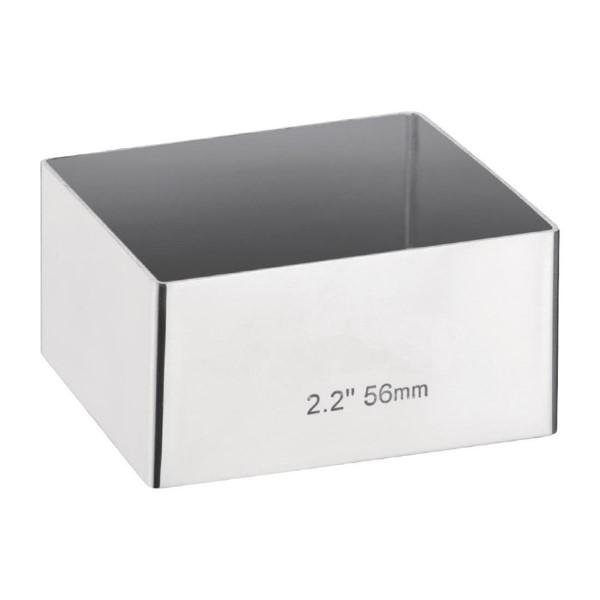 Mini taartvorm vierkant 6x6cm