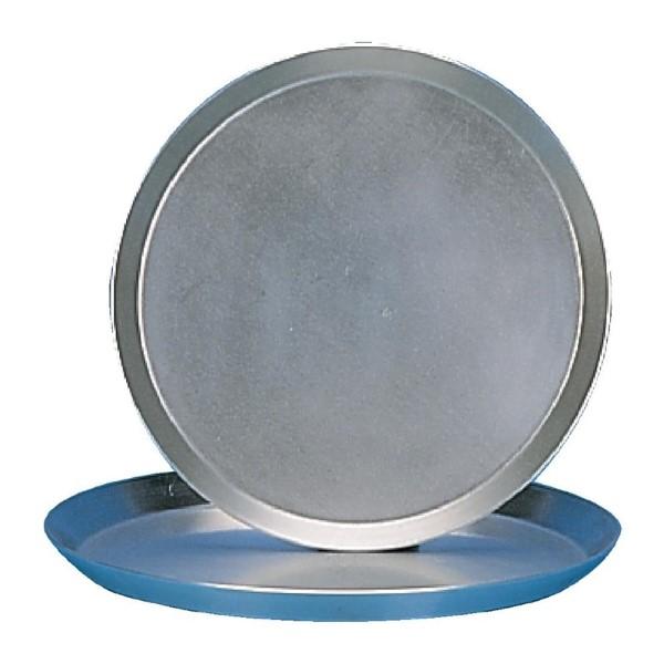 Pizzapan getemperd aluminium 23cm