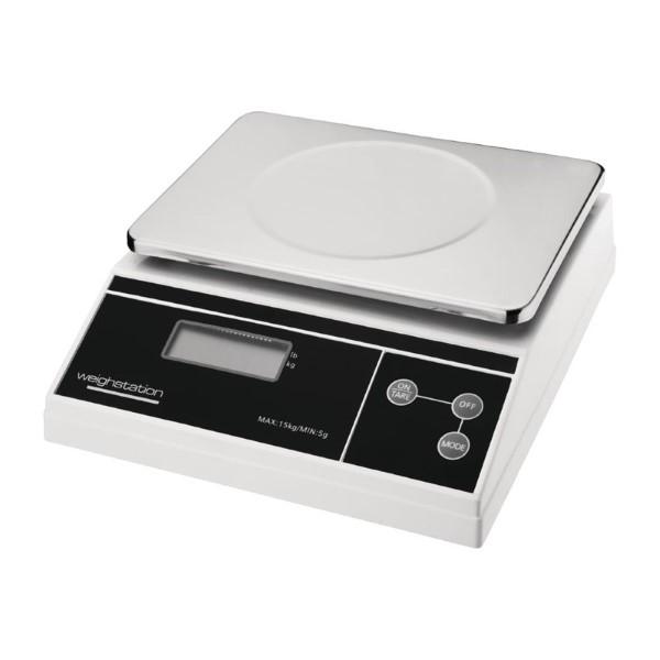 Weighstation digitale weegschaal 15kg per 5 gram