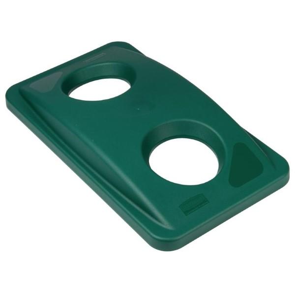 Rubbermaid Slim Jim deksel groen