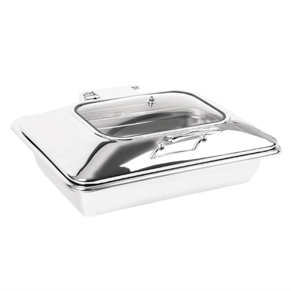 Olympia inductie chafing dish met venster GN 1/1