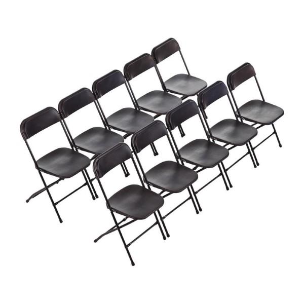 Bolero opklapbare stoel zwart