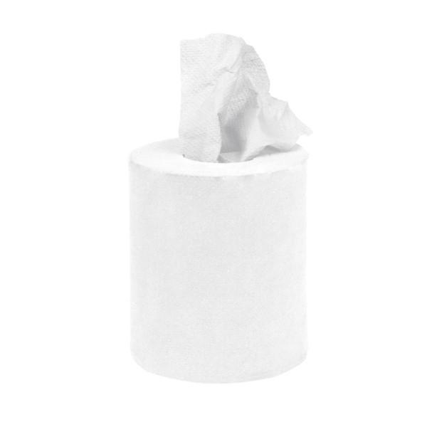 Jantex mini centrefeed handdoekrollen wit