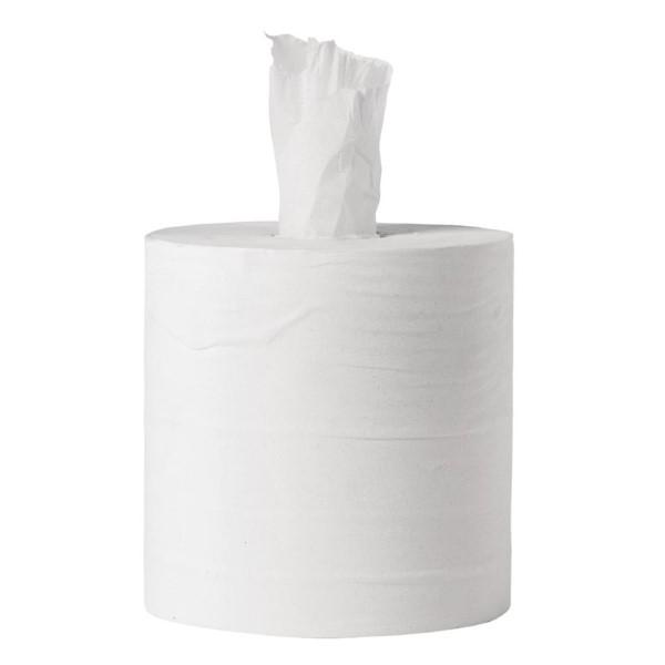 Jantex centrefeed handdoekrollen wit