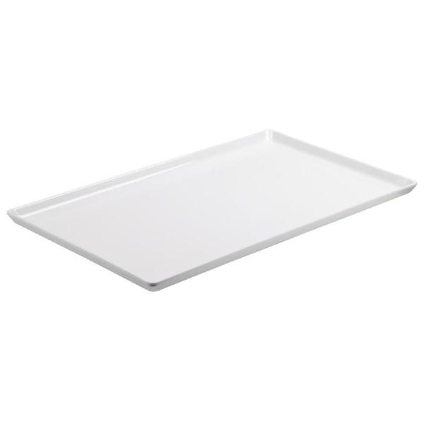 APS Float platte melamine schaal wit GN 1/2