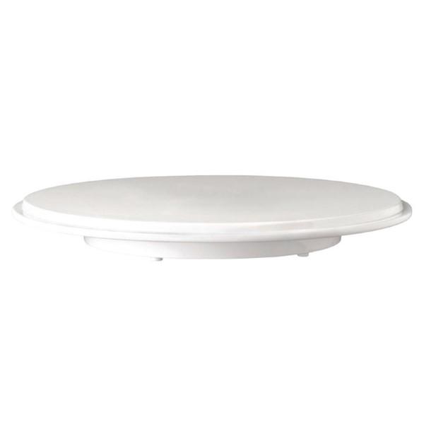 APS Pure ronde melamine taartschotel wit