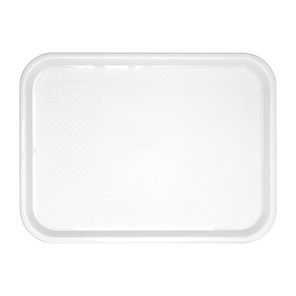 Kristallon dienblad wit 34,5×26,5cm