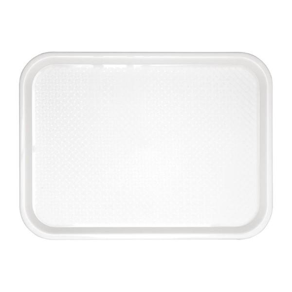 Kristallon dienblad wit 41,5×30,5cm