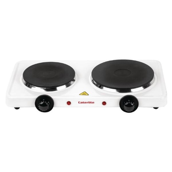 Caterlite dubbele elektrische kookplaat
