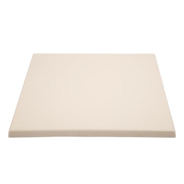 Bolero vierkant tafelblad wit 60cm