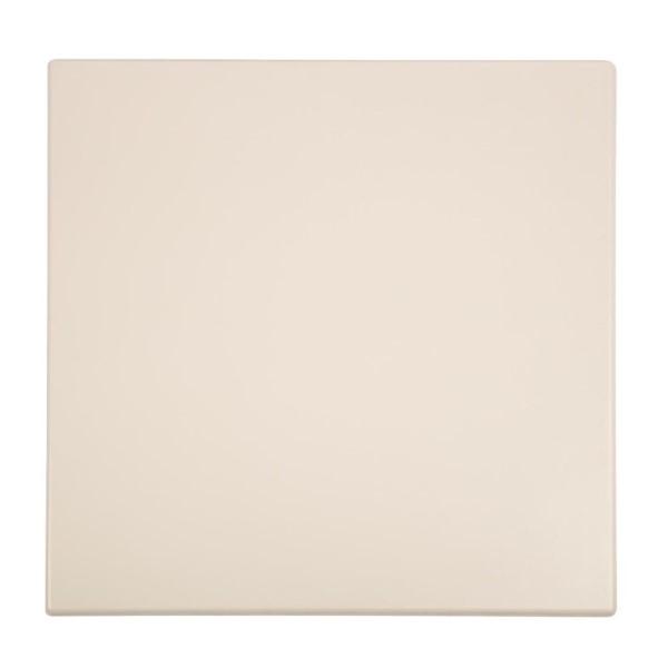 Bolero vierkant tafelblad wit 70cm