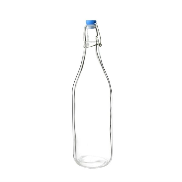 Olympia glazen waterflessen 1L