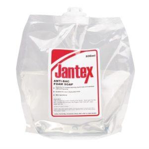 Jantex antibacteriële schuimzeep 80cl