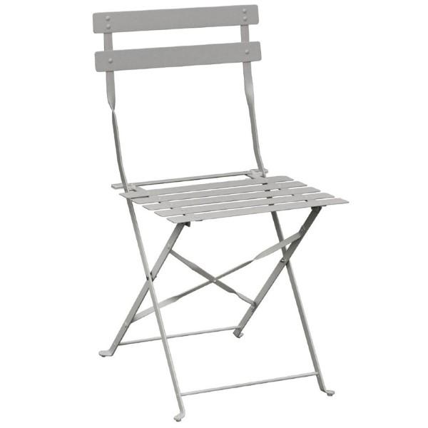 Bolero Stale stoelen grijs