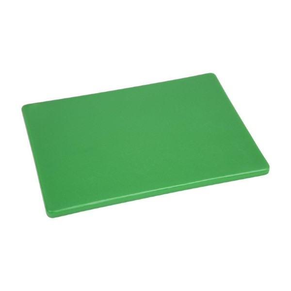 Hygiplas LDPE snijplank groen 30,5×22,9×1,2cm
