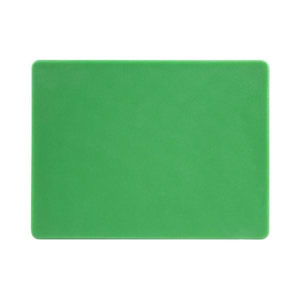 Hygiplas LDPE snijplank groen 30,5x22,9x1,2cm