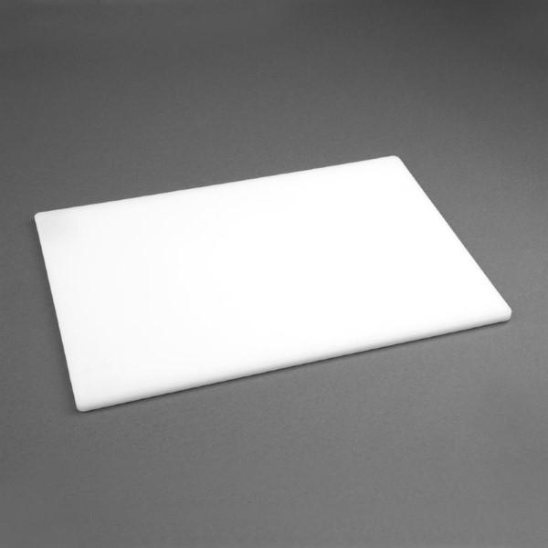 Hygiplas LDPE snijplank wit 30,5×22,9×1,2cm