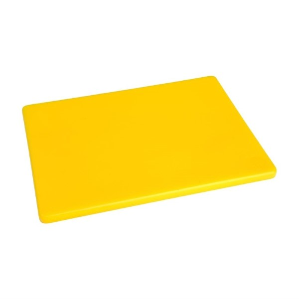 Hygiplas LDPE snijplank geel 30,5×22,9×1,2cm