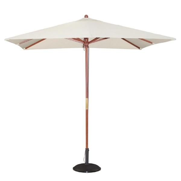 Bolero vierkante crème parasol 2,5 meter