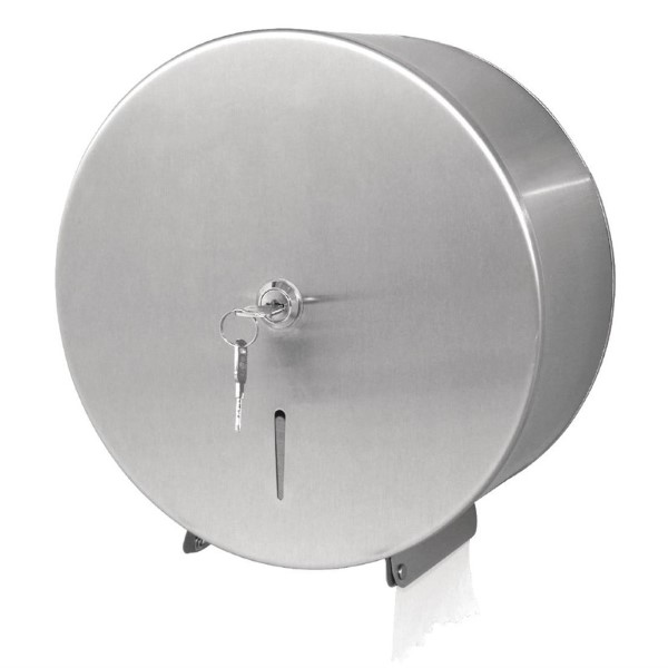 Jantex RVS jumbo toiletroldispenser