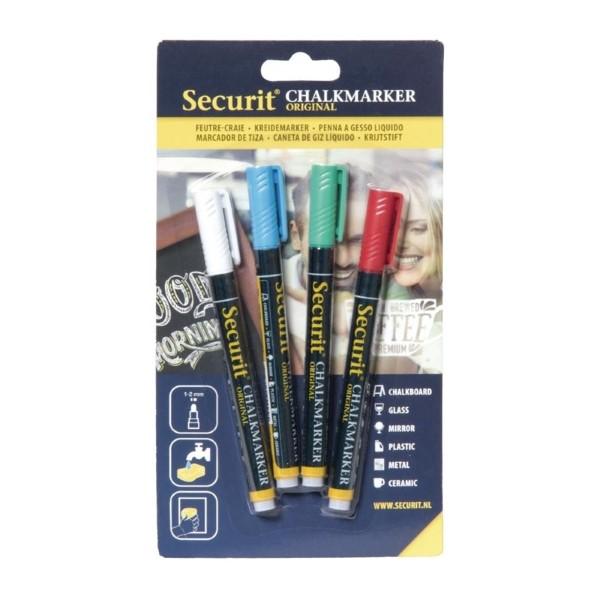 Securit wisbare krijtstiften 2mm assorti