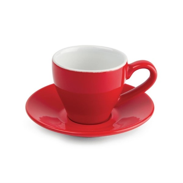 Olympia Café espressokoppen rood 10cl