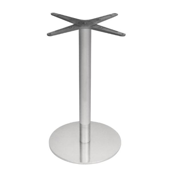 Bolero ronde RVS tafelpoot
