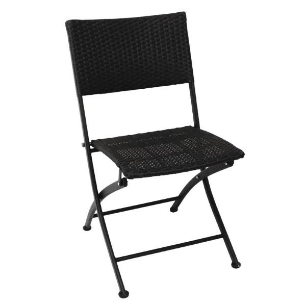 Bolero opklapbare rotan stoelen