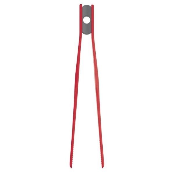 Kitchen Craft siliconen pincet rood 29cm