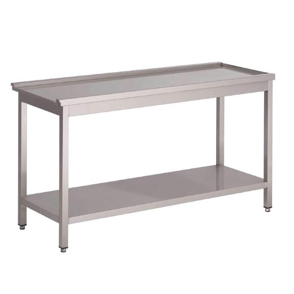 Gastro M aanvoertafel voor doorschuifvaatwasser HT50