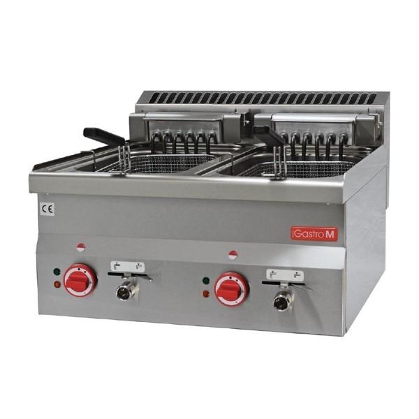 Gastro M 600 elektrische friteuse 2x 10L 60/60 FRE