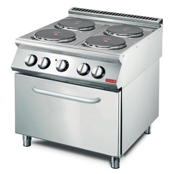 Gastro M elektrisch fornuis 70/80 CFE
