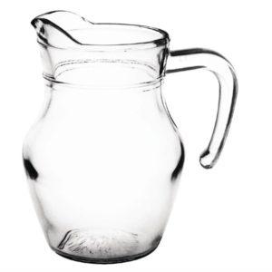 Olympia glazen kannen 0,5L