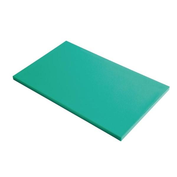 Gastro M GN1/2 HDPE snijplank glad groen