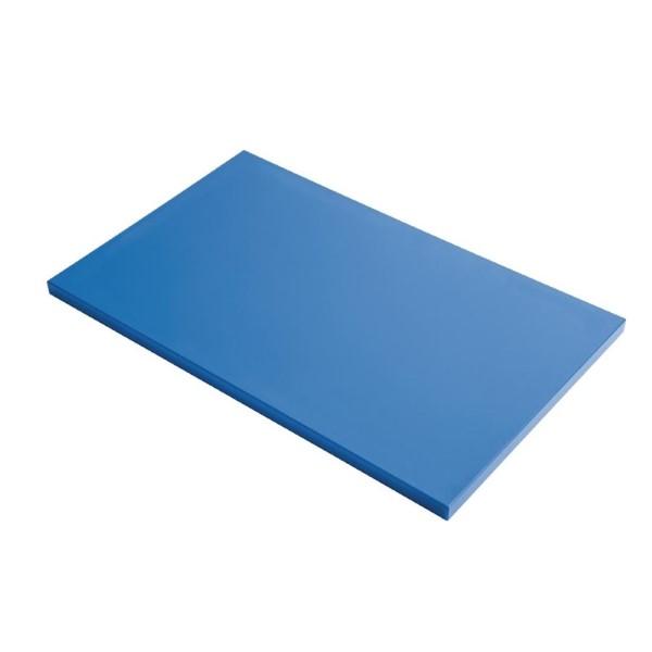 Gastro M HDPE snijplank blauw 60x40x2cm