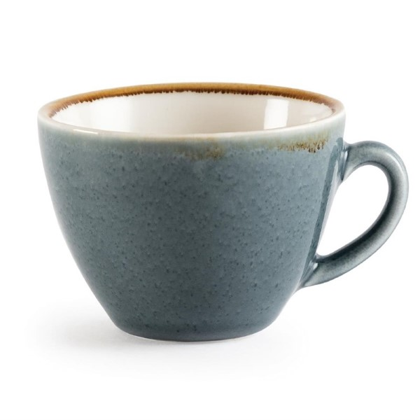 Olympia Kiln cappuccinokopjes blauw 23cl