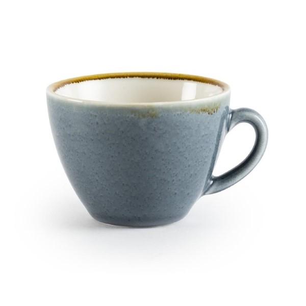 Olympia Kiln cappuccinokopjes blauw 34cl